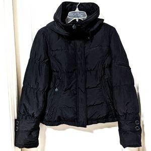 Calvin Klein Down Puffer Hooded Jacket Black sz S
